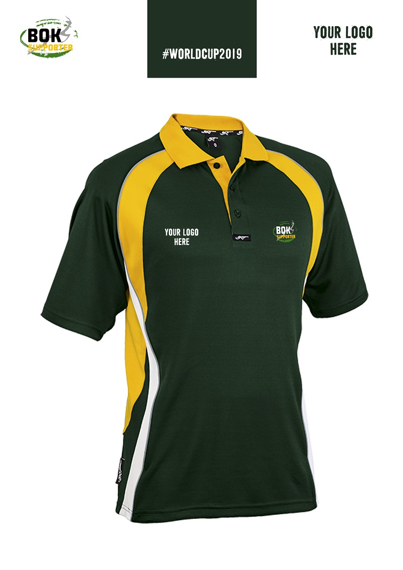 Bok Supporter Athletica Mens Golf Shirt