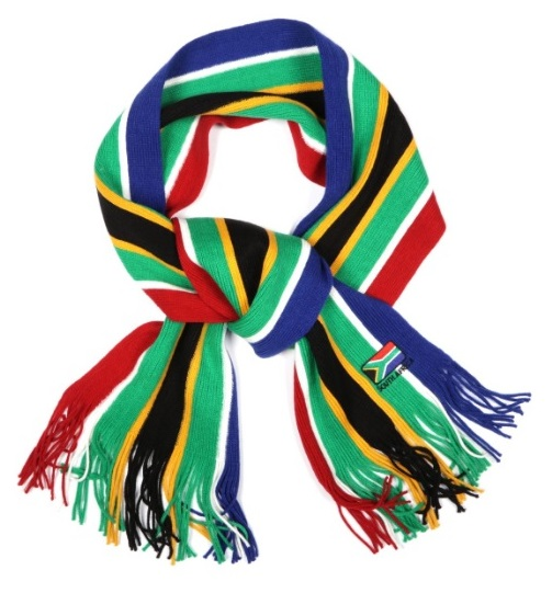 South Africa Flag Scarf